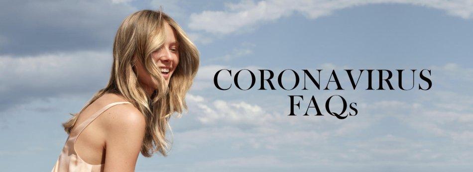 Coronavirus FAQs banner