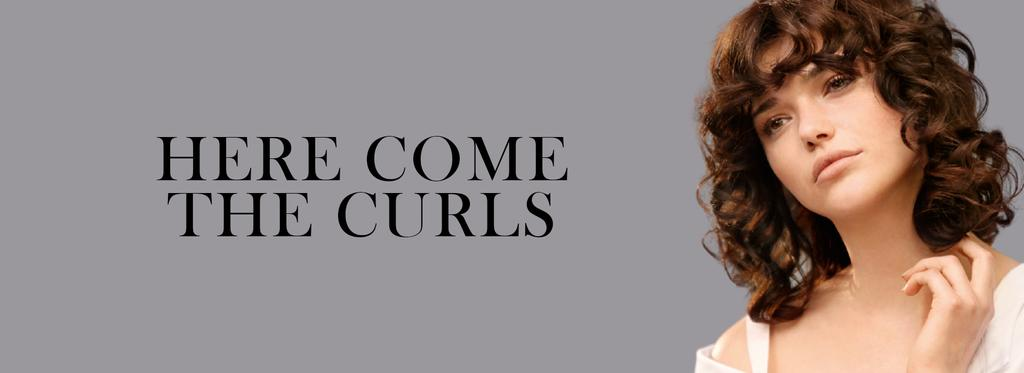 Here Come The Curls black