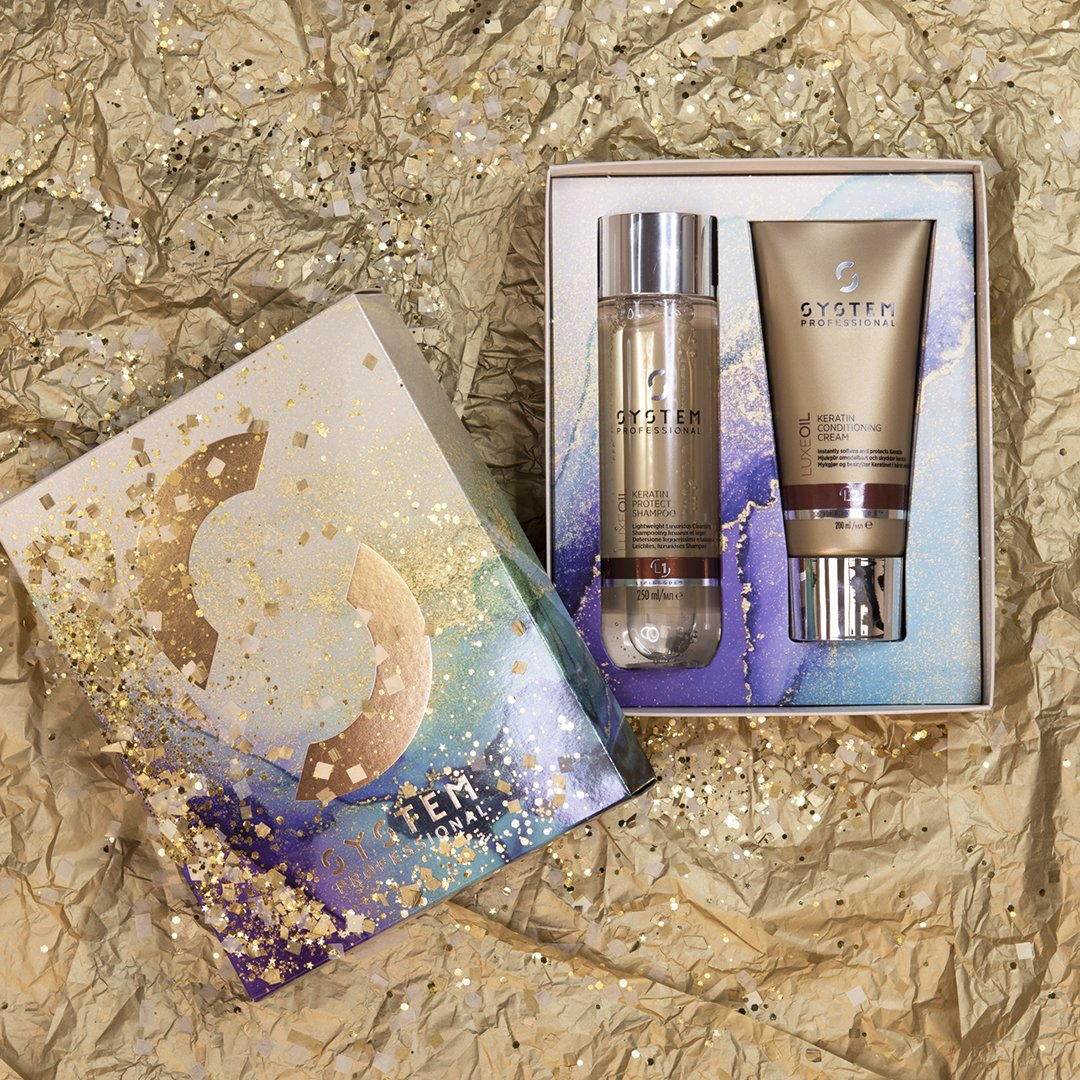 LuxeOil Christmas Gift Set Lore Hairdressing Salon North Baddesley